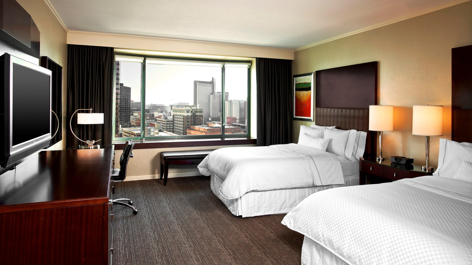 Traditional Guest Room - The Westin Denver Downtown